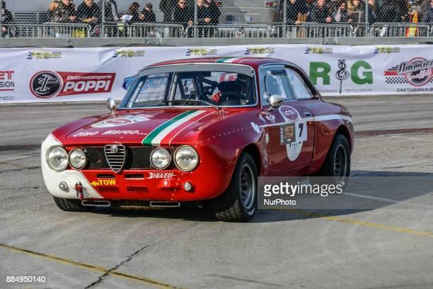 Alfa Giulia Race qualiication AlfaRomeo GTA during Motorshow 2017 at Area 48 Motul in Bologna Italy on 3 December 2017