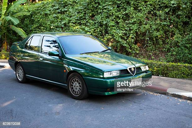 alfa romeo 155 in thailand - alfa romeo stock pictures, royalty-free photos & images