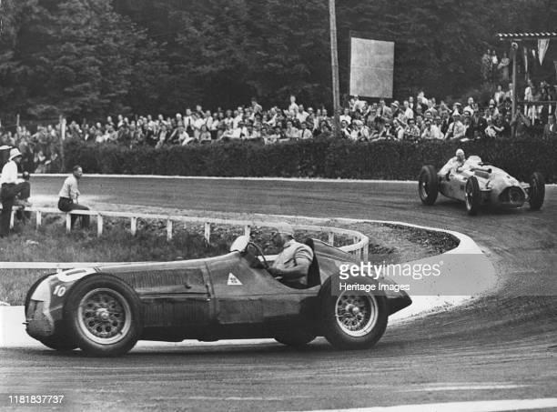 Alfa Romeo 158, Fangio, Belgium Grand Prix at Spa 1950. Creator: Unknown.