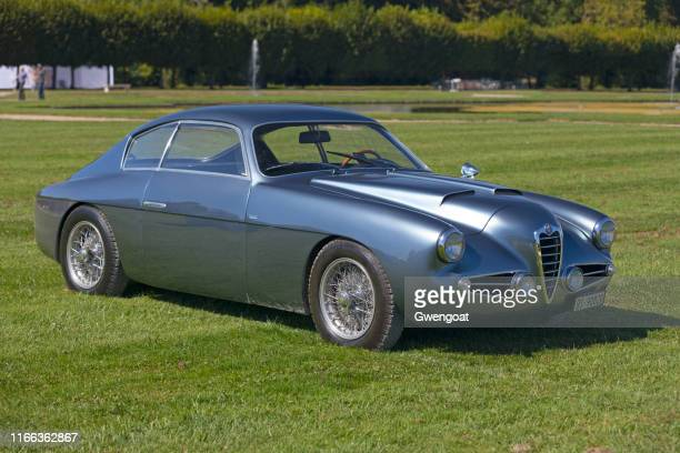 alfa romeo 1900 ss zagato - 20th century stock pictures, royalty-free photos & images