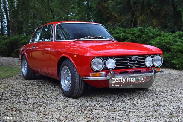 Alfa Romeo 2000 GT Veloce on the parking