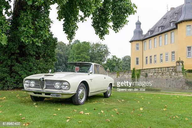 Alfa Romeo 2600 Sprint classic Italian sports car