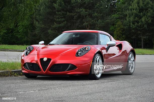 Alfa Romeo 4C on the street