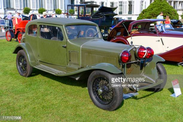 Alfa Romeo 6C 1750GT Berlinetta Aerodinamica MM by Touring 1932 classic sports car on display at the 2019 Concours d'Elegance at palace Soestdijk on...