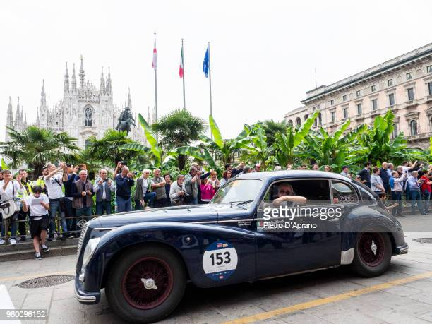 Alfa Romeo 6C 2500 Sport 'Freccia D'oro' during 1000 Miles Historic Road Race on May 19 2018 in Milan Italy