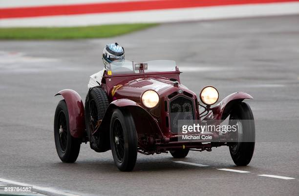 Alfa Romeo 8C 2300 Monza driven by entrant Moritz Werner in the Brooklands Trophy at Goodwood on September 8th 2017 in Chichester England