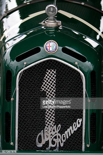 Alfa Romeo 8C 2300 Monza during the 2007 Goodwood Revival Meeting at Goodwood Motor Racing Track in Sussex England UK