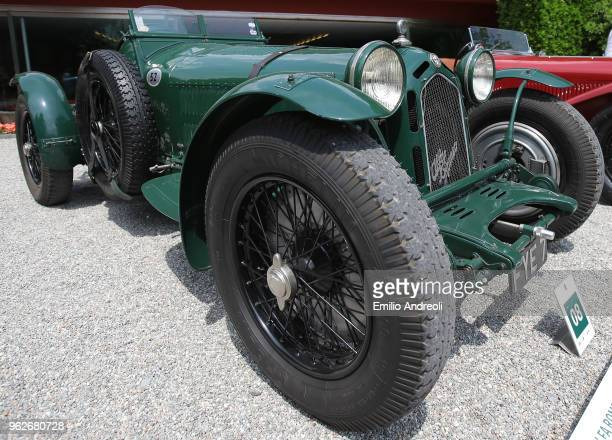 Alfa Romeo 8C 2300 Monza on display at the Concorso d'Eleganza Villa d'Este at Villa d'Este on May 26 2018 in Como Italy Approximately 50 Historic...