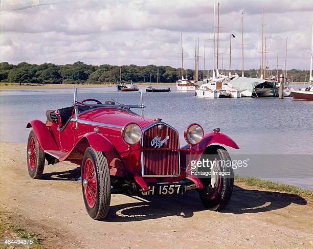 Alfa Romeo 8C 2300 Photographed by the side of a lake