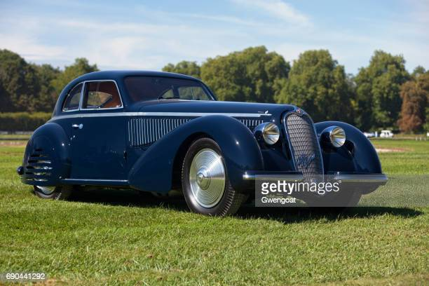 alfa romeo 8c 2900b touring berlinetta - alfa romeo stock pictures, royalty-free photos & images