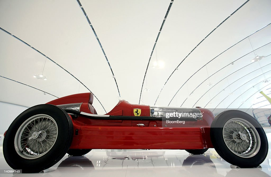 Inside The Enzo Ferrari Museum : News Photo