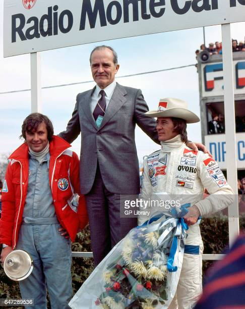 Alfa Romeo boss Jarier Merzario at Dijon 500kms 1977