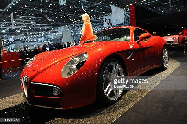Alfa Romeo Competizione in Geneva Switzerland on March 03rd 2009