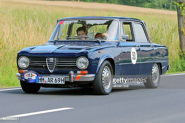 Alfa Romeo Giulia 1300 TI 1969 gesehen bei ADAC Oldtimer Rundfahrt Niedersachsen Classic in Bad Pyrmont