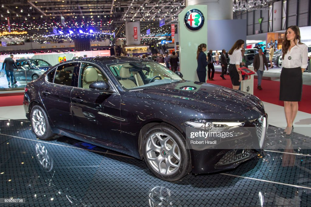 88th Geneva International Motor Show Press Days : Nachrichtenfoto
