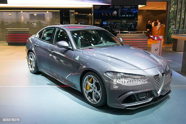 Alfa Romeo Giulia Quadrifoglio QV sports sedan