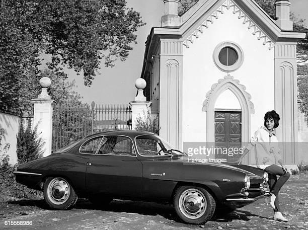 Alfa Romeo Giulia Sprint Speciale coupe Artist Unknown