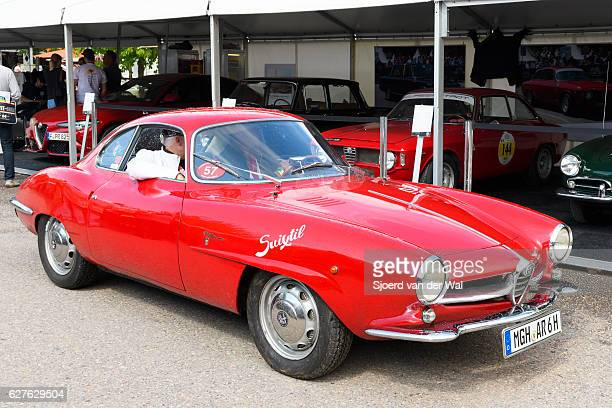 "alfa romeo giulietta sprint speciale - ""sjoerd van der wal"" stock pictures, royalty-free photos & images"
