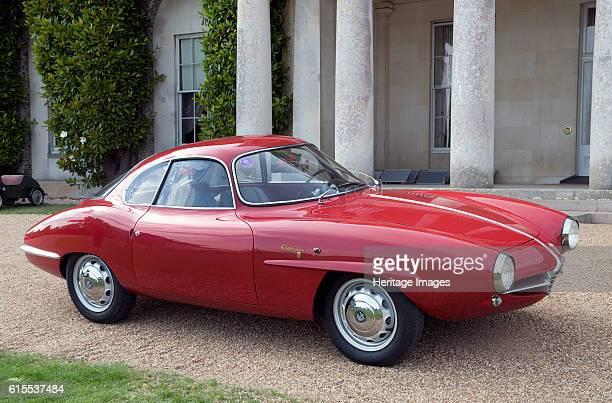 Alfa Romeo Giulietta Sprint Zagato Artist Unknown