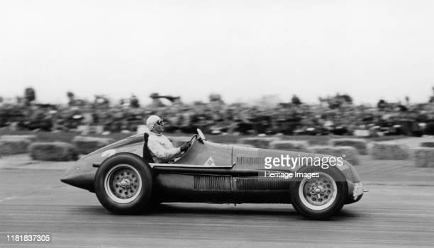 Alfa Romeo, Giuseppe Farina winner British Grand Prix at Silverstone 1950. Creator: Unknown.
