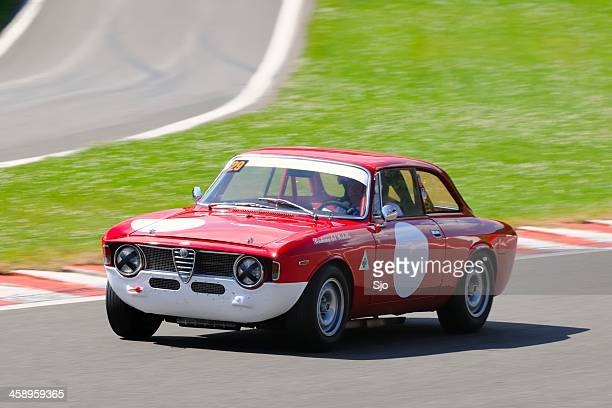 alfa romeo gta - rally car stock photos and pictures