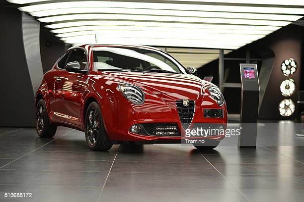 Alfa Romeo Mito in the car showroom