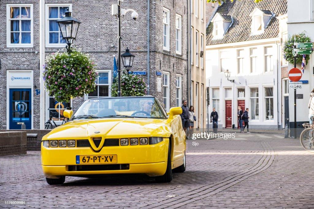 Alfa Romeo RZ Roadster Zagato conversível carro esportivo : Foto de stock