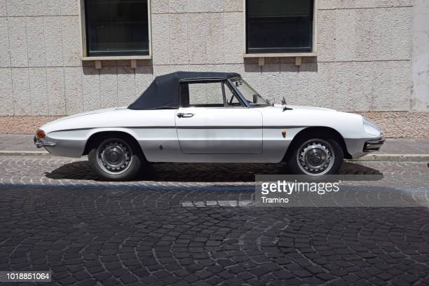 Alfa Romeo Spider Duetto on the street