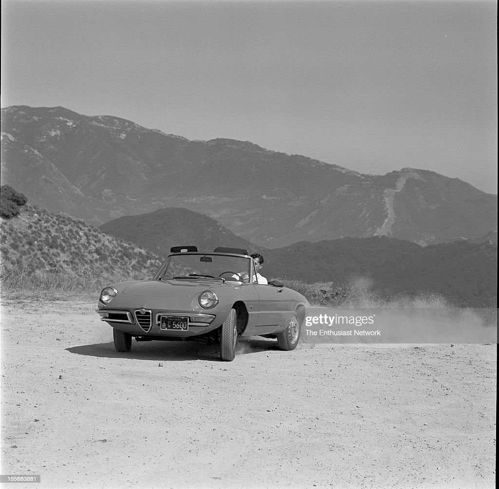 Alfa Romeo Spider Road Test For Sports Car Graphic Magazine. Tested On The  Mountain Roads