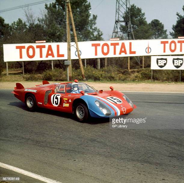 Alfa Romeo T33 at Le mans test weekend not 24hr race