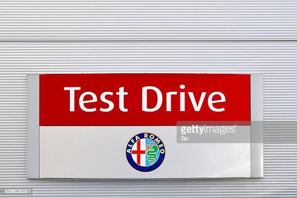 Alfa Romeo Test Drive