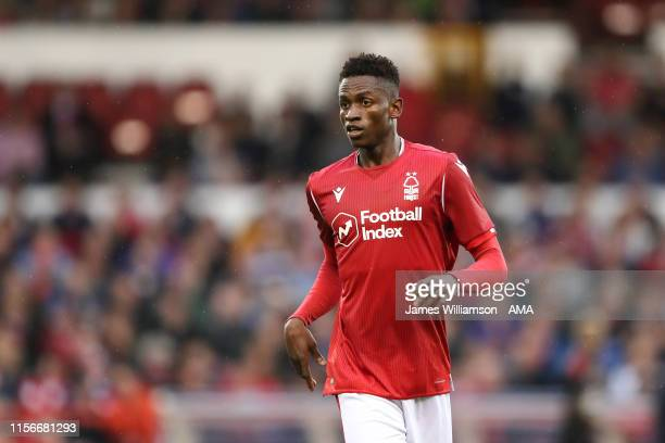 Alfa Semedo of Nottingham Forest during the PreSeason Friendly match between Nottingham Forest and Crystal Palace at City Ground on July 19 2019 in...