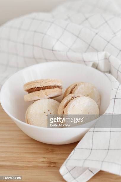 alfajores - marzipan stock pictures, royalty-free photos & images