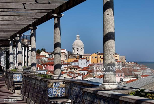 Alfama Area of Lisbon Portugal