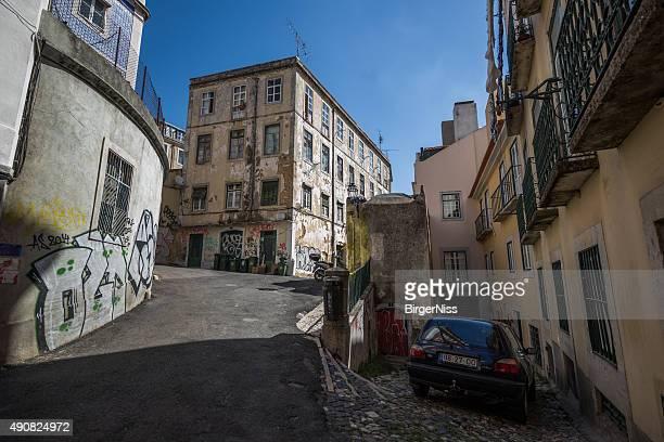 Alfama-Distrikt in Lissabon, Portugal