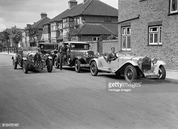 AlfaRomeo Chrysler Coupe and Bugatti Type 43 2262cc AlfaRomeo 1930 Vehicle Reg No GC5870 Driver Evans K Centre Chrysler Coupe An Evans family car...