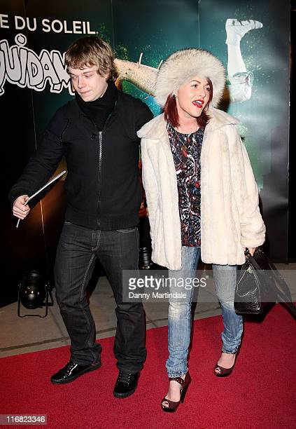 Alfie Allen and Jaime Winstone attend the Cirque du Soleil Quidam Gala Premiere at Royal Albert Hall on January 6 2009 in London England