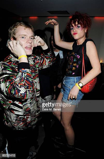 Alfie Allen and Jaime Winstone attend The Diesel xXx Creative Experiment Party as Diesel celebrates its 30th Birthday at Matter in the O2 Arena on...