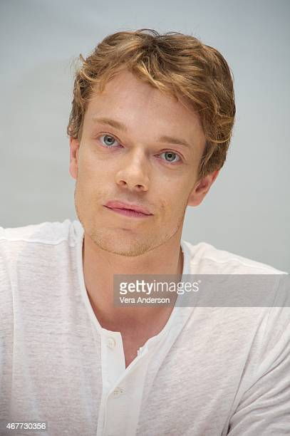 """Alfie Allen at the """"Game Of Thrones"""" Press Conference at the Four Seasons Hotel on March 25, 2015 in Beverly Hills, California."""