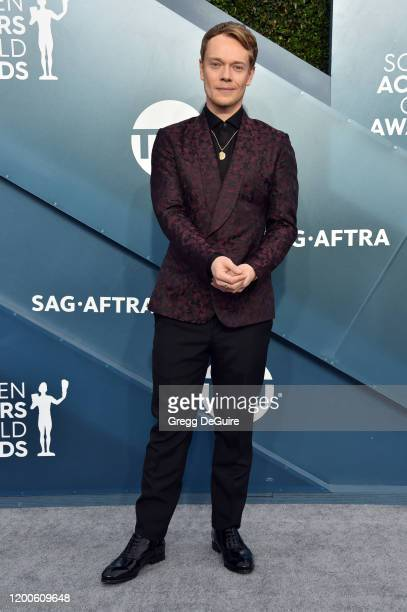 Alfie Allen attends the 26th Annual Screen ActorsGuild Awards at The Shrine Auditorium on January 19, 2020 in Los Angeles, California. 721430