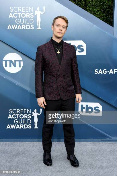 Alfie Allen attends the 26th Annual Screen ActorsGuild Awards at The Shrine Auditorium on January 19, 2020 in Los Angeles, California.