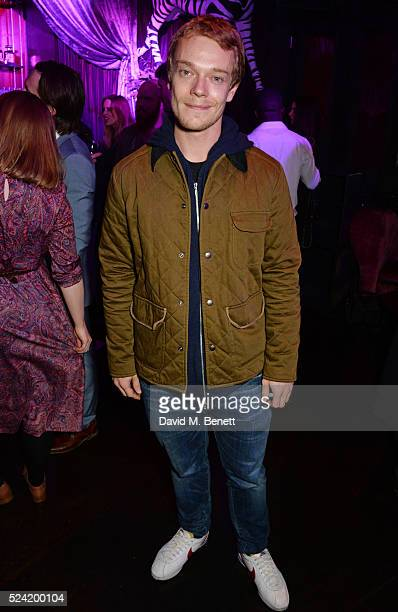 Alfie Allen attends the Gala Night performance of 'Doctor Faustus' at The Cuckoo Club on April 25 2016 in London England