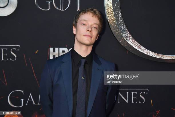 """Alfie Allen attends the """"Game Of Thrones"""" Season 8 NY Premiere on April 3, 2019 in New York City."""