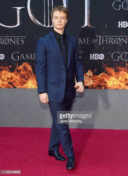 Alfie Allen attends the Game Of Thrones Season 8 Premiere on April 03 2019 in New York City