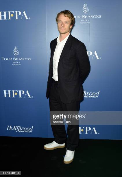 Alfie Allen attends The Hollywood Foreign Press Association and The Hollywood Reporter party at the 2019 Toronto International Film Festival at Four...