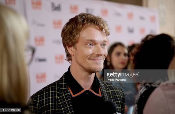 """Alfie Allen attends the """"How To Build A Girl"""" premiere during the 2019 Toronto International Film Festival at Ryerson Theatre on September 07, 2019..."""