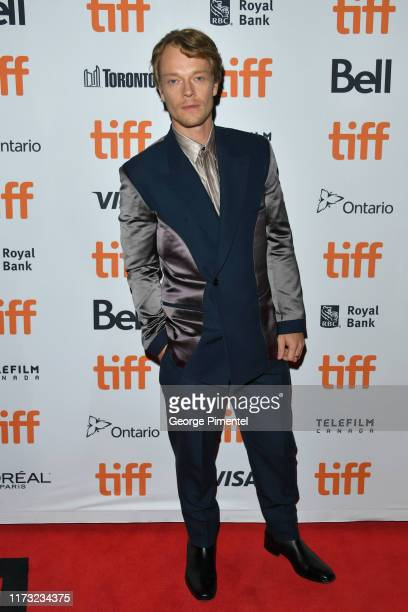 """Alfie Allen attends the """"Jojo Rabbit"""" premiere during the 2019 Toronto International Film Festival at Princess of Wales Theatre on September 08, 2019..."""