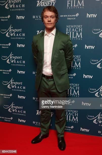 Alfie Allen attends the Newport Beach Film Festival Honours on February 9 2017 in London United Kingdom