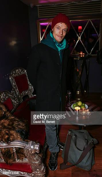 Alfie Allen attends the press night after party for 'The Homecoming' at The Electric Carousel on November 23 2015 in London England