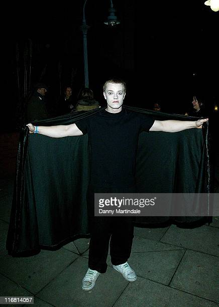 Alfie Allen stars in Portobello Panto's 'A Twisted Carol' at the Tabernacle Arts Center on December 13 2007 in London England